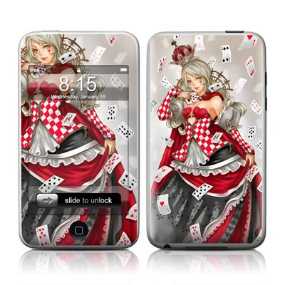 iPod Touch Skin - Queen Of Cards