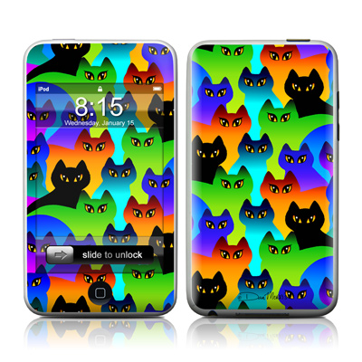 iPod Touch Skin - Rainbow Cats