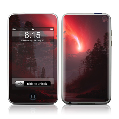 iPod Touch Skin - Red Harbinger
