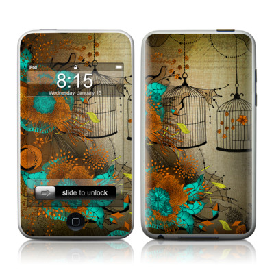 iPod Touch Skin - Rusty Lace