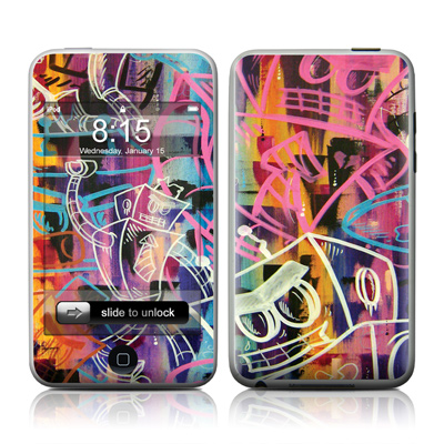 iPod Touch Skin - Robot Roundup