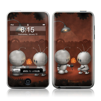 iPod Touch Skin - Robots In Love