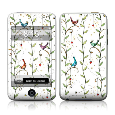 iPod Touch Skin - Royal Birds