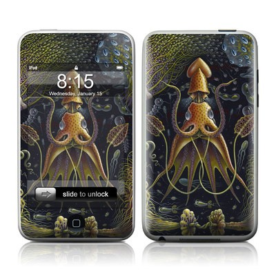 iPod Touch Skin - Sea Flowers