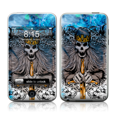 iPod Touch Skin - Skeleton King