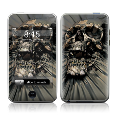 iPod Touch Skin - Skull Wrap