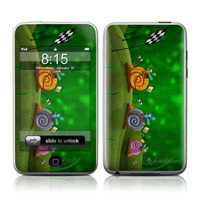 iPod Touch Skin - Snail Race