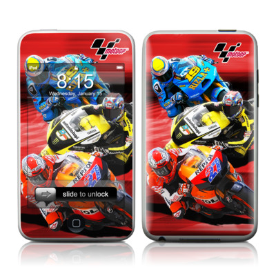 iPod Touch Skin - Speed Collage
