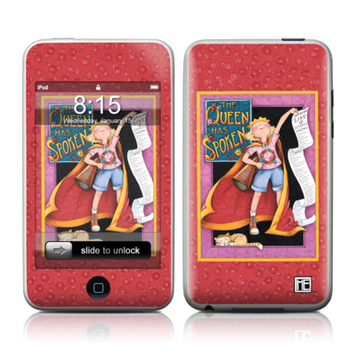 iPod Touch Skin - Queen Has Spoken