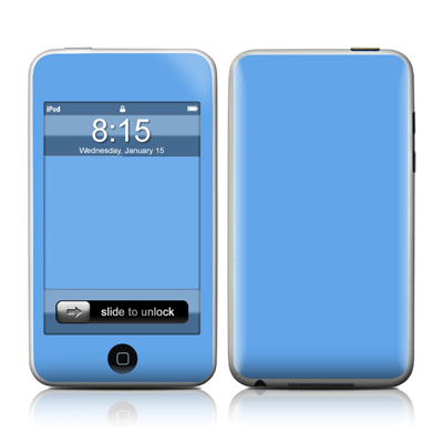 iPod Touch Skin - Solid State Blue