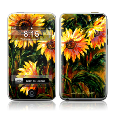 iPod Touch Skin - Sunflower Sunshine