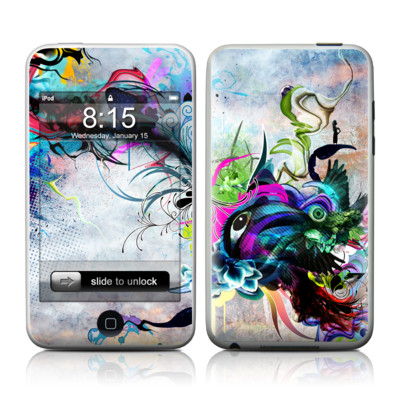 iPod Touch Skin - Streaming Eye