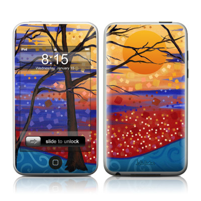 iPod Touch Skin - Sunset Moon