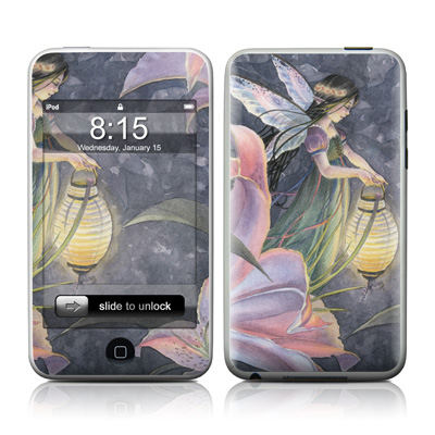 iPod Touch Skin - Twilight Lilies