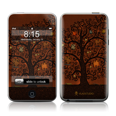 iPod Touch Skin - Tree Of Books