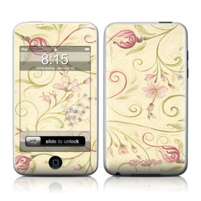 iPod Touch Skin - Tulip Scroll