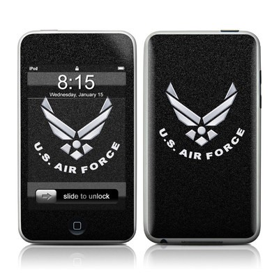 iPod Touch Skin - USAF Black