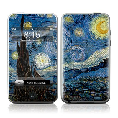 iPod Touch Skin - Starry Night