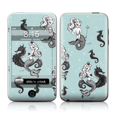 iPod Touch Skin - Vintage Mermaid