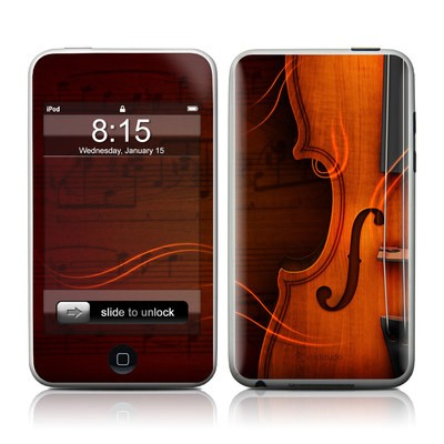 iPod Touch Skin - Violin