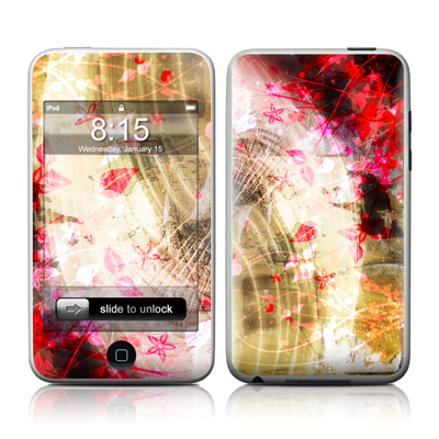 iPod Touch Skin - Woodflower