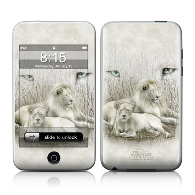 iPod Touch Skin - White Lion
