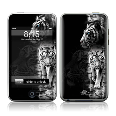 iPod Touch Skin - White Tiger