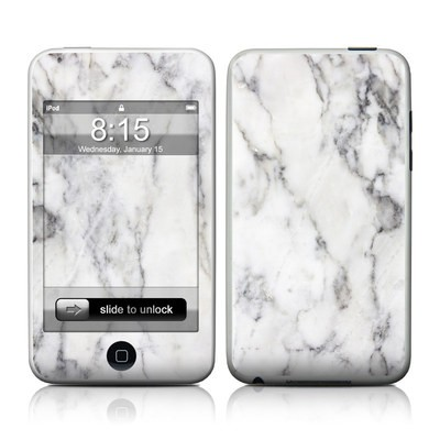 iPod Touch Skin - White Marble
