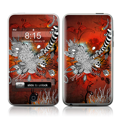 iPod Touch Skin - Wild Lilly