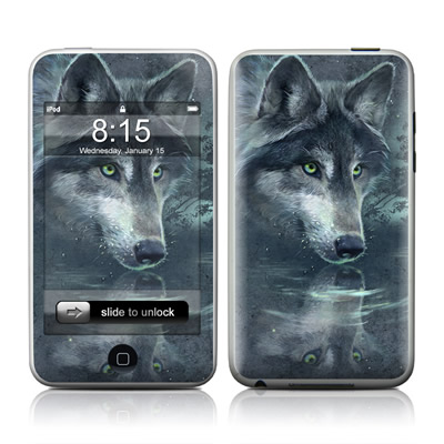 iPod Touch Skin - Wolf Reflection
