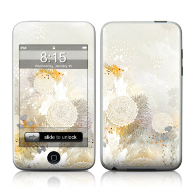 iPod Touch Skin - White Velvet