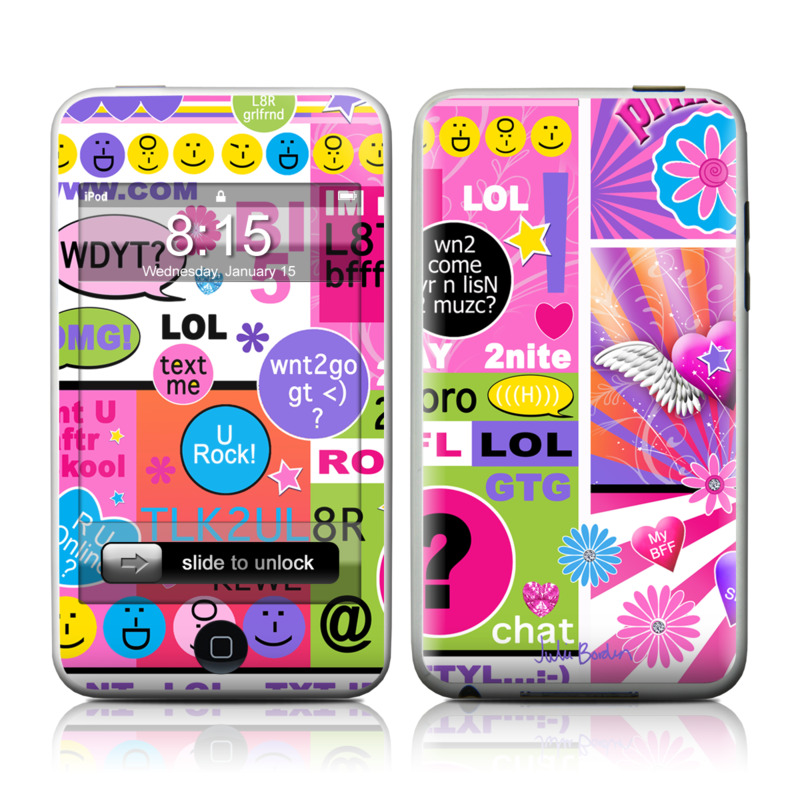 best service e69b3 f3627 iPod Touch Skin - BFF Girl Talk