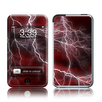 iPod Touch Skin - Apocalypse Red