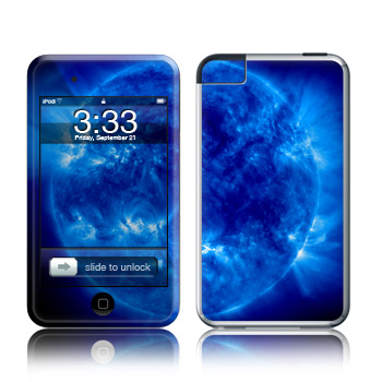 iPod Touch Skin - Blue Giant
