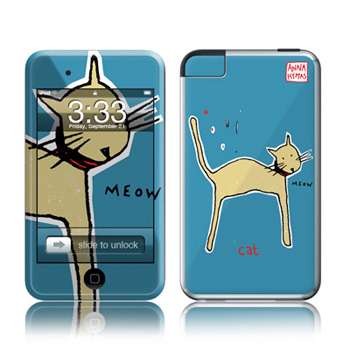 iPod Touch Skin - Cat