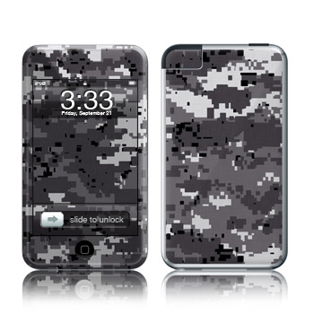 iPod Touch Skin - Digital Urban Camo