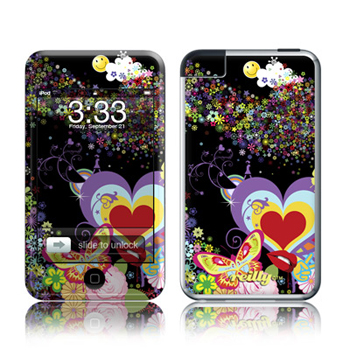iPod Touch Skin - Flower Cloud
