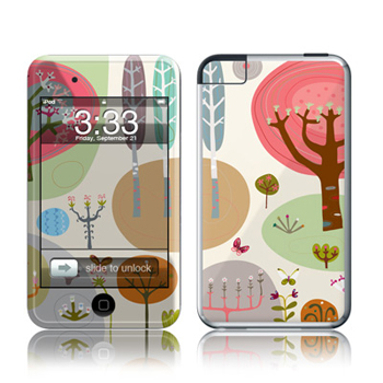 iPod Touch Skin - Forest