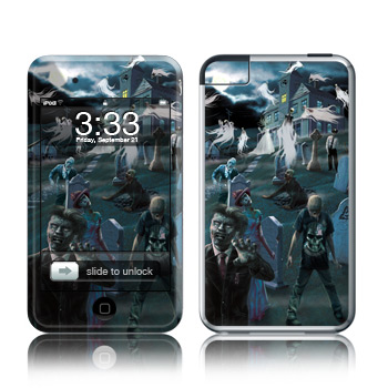 iPod Touch Skin - Graveyard