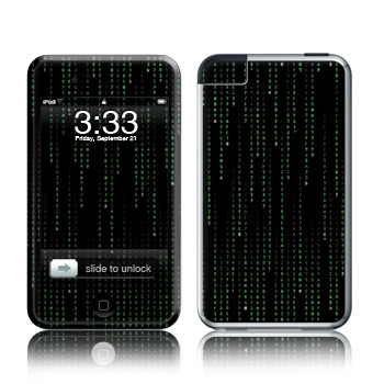 iPod Touch Skin - Matrix Style Code