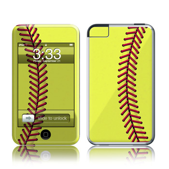 iPod Touch Skin - Softball