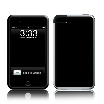 iPod Touch Skin - Solid State Black
