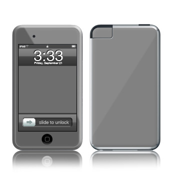 iPod Touch Skin - Solid State Grey