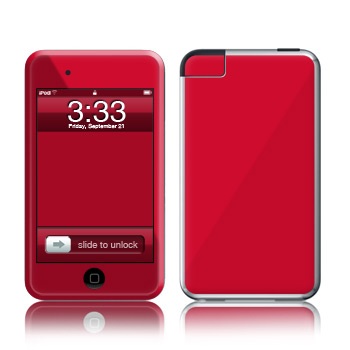 iPod Touch Skin - Solid State Red