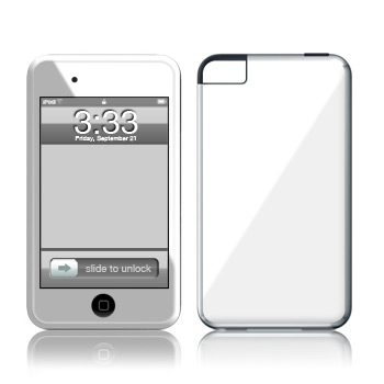 iPod Touch Skin - Solid State White