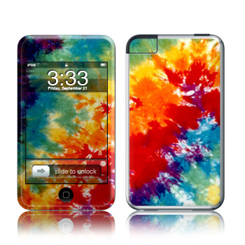 iPod Touch Skin - Tie Dyed
