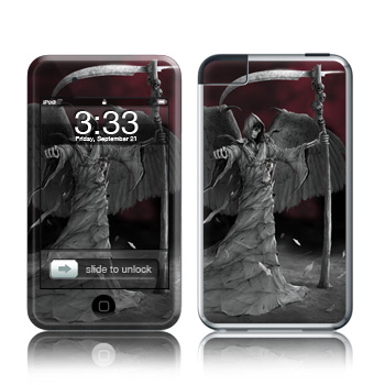 iPod Touch Skin - Time is Up