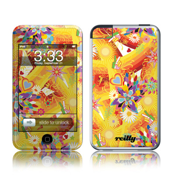 iPod Touch Skin - Wall Flower