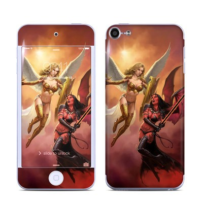 Apple iPod Touch 6G Skin - Angel vs Demon