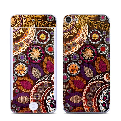 Apple iPod Touch 6G Skin - Autumn Mehndi